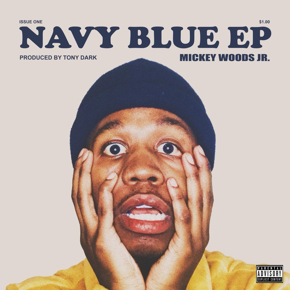 TONY DARK X MICKEY WOODS JR. - NAVY BLUE EP