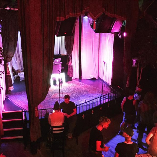 ATM comes to Hollywood! Shows about to start...#dragshow #arttalentmusic #queerart #queerla #queer