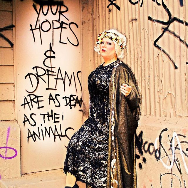 Your hopes and dreams are as dead as the animals... at the Old LA Zoo with @shelitapotroast - more images from this shoot coming soon... #dragqueen #dragspiration #oldlazoo #photography #queer #queerla #queerart