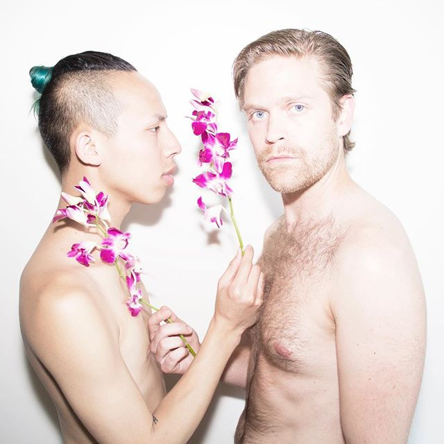 Orchids are always in season... beauty by Truong and Hans... #malemodel #fashion #photography #lessterling