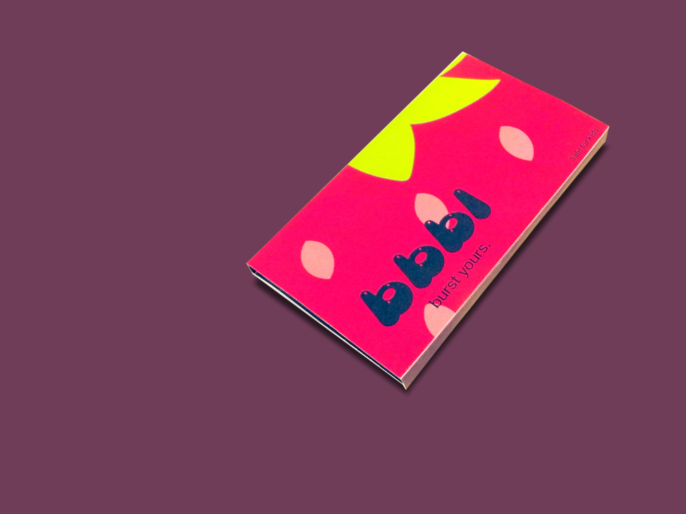 bbbl chewing gum packaging