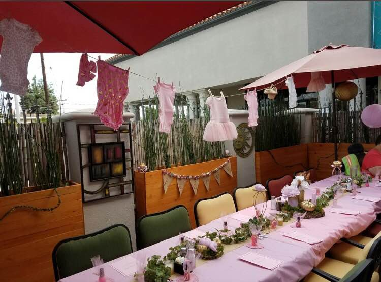 Baby Shower on the Patio