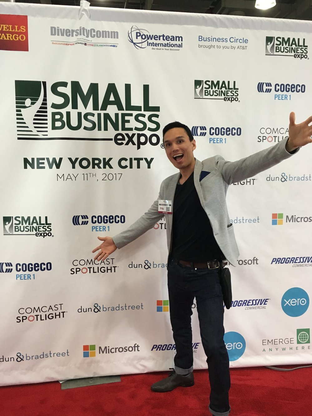 Small Business Expo at Jacob Javitz Center