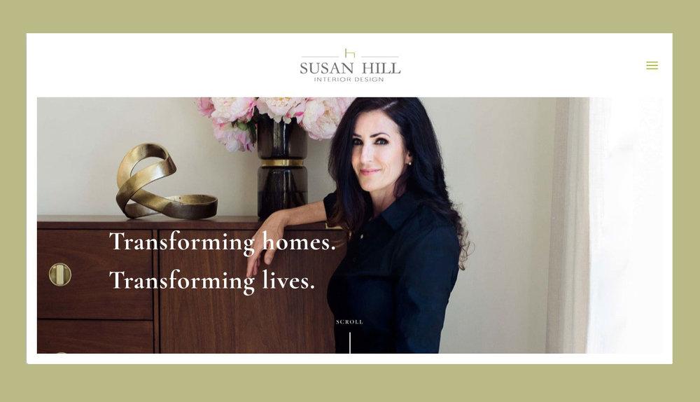 SUSAN HILL INTERIOR DESIGN