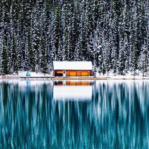 Her widely acclaimed shot of Lake Louise featured by National Geographic.