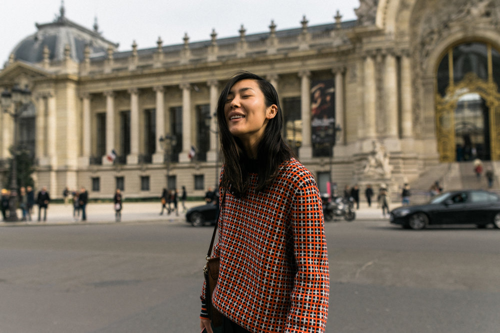 Liu Wen , Paris