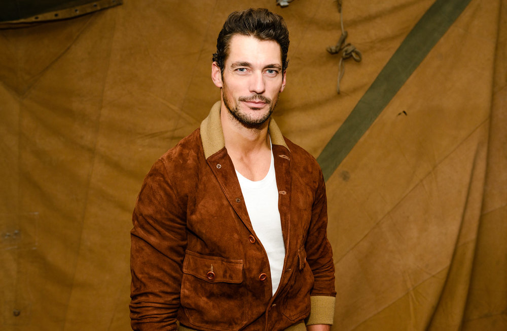 Fashion Week / Conversations and Dialogues David Gandy, London, UK