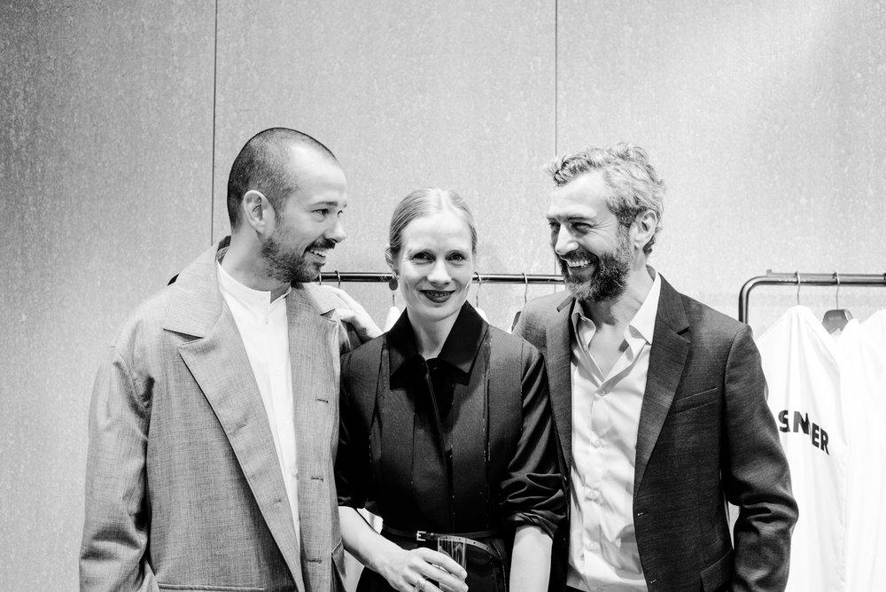 Jil Sander Creative Directors,Luke Meier And Lucy Meier