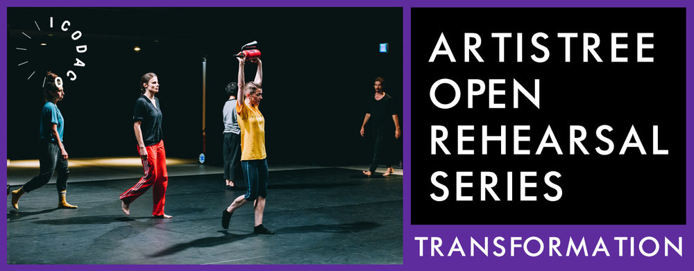 iCoDaCo : Transformation / Open Rehearsals Series  ArtistreeHK / Open Rehearsals Series - Have a Bite of Inspiration Swire Properties Art