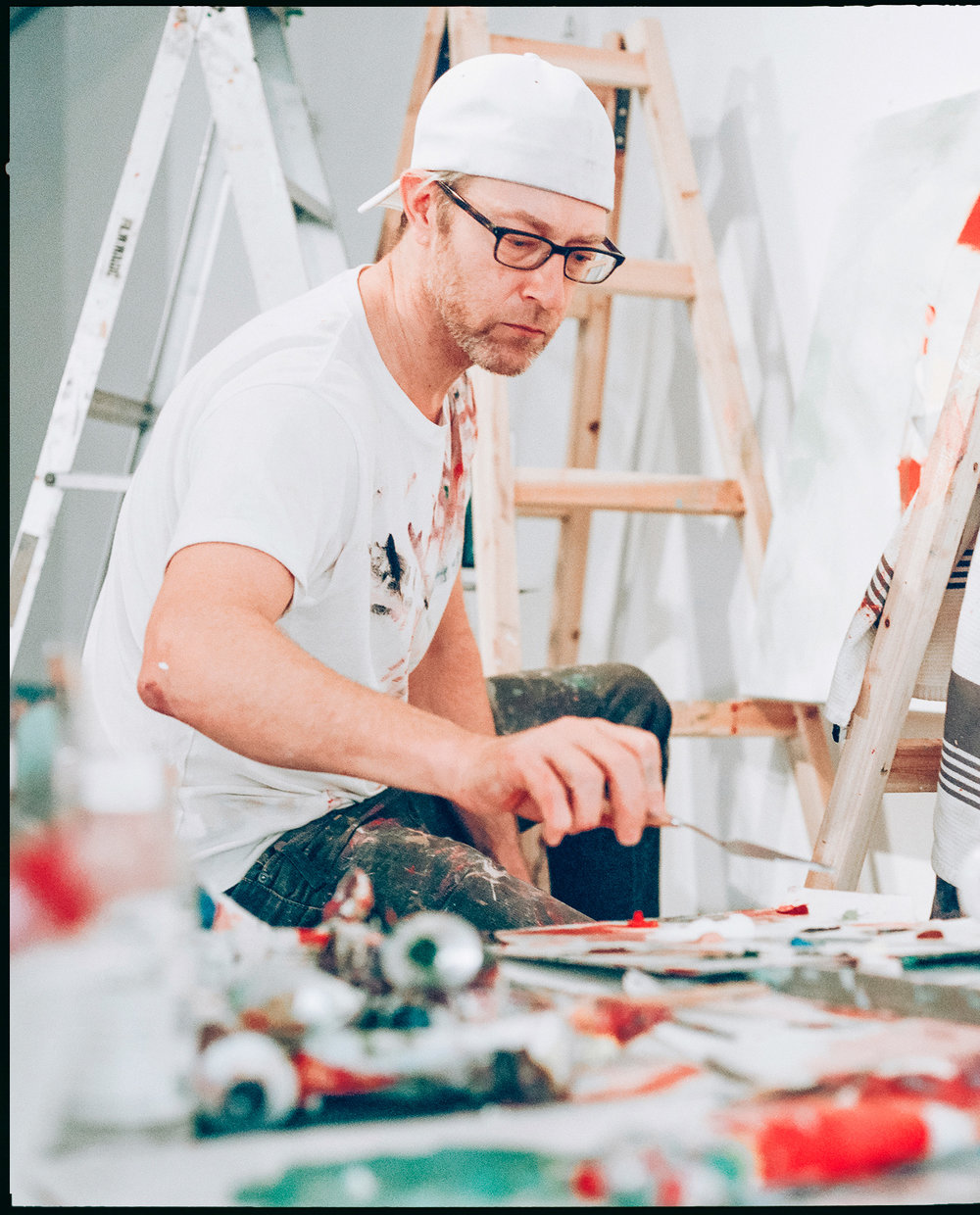 Art & Cultural Series / Simon Birch Artist 14th Factory