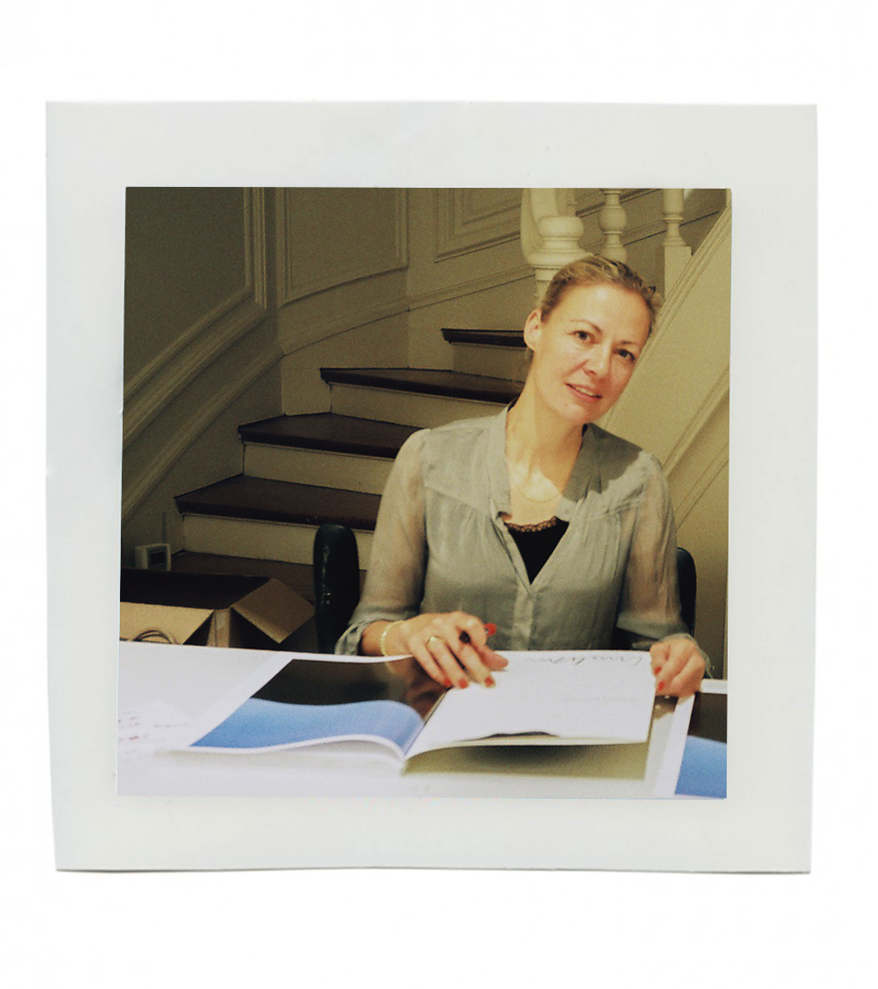 Image of Artist : Photographer - Viviane Sassen and her Présentation du livre UMBRA organized by the Embassy of the Netherlands at Atelier Néerlandais in Paris, France.