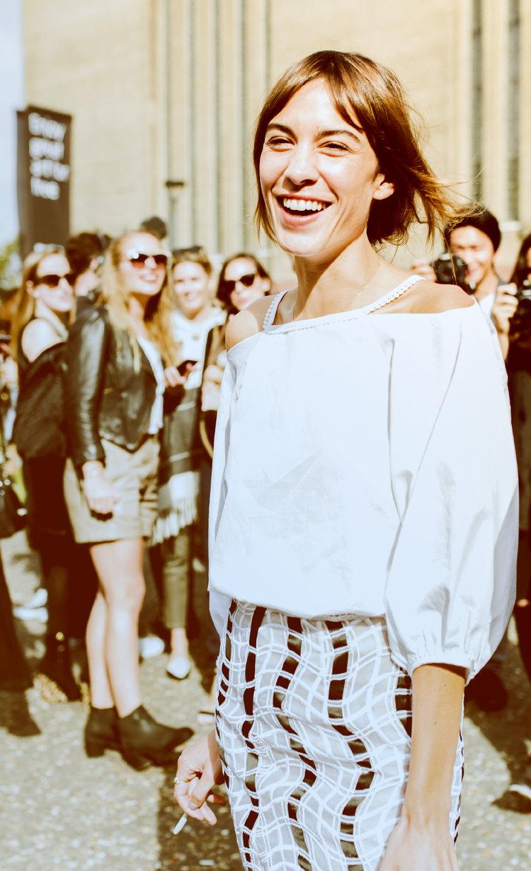 Fashion Week / Conversations and Dialogues Alexa Chung, London, UK