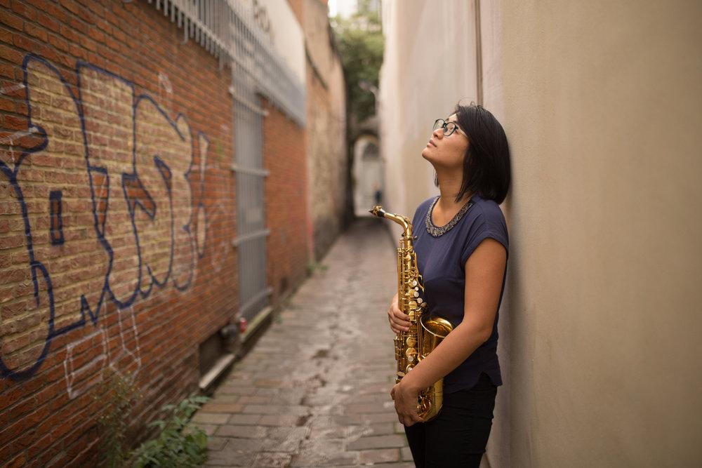 KAY ZHANG - alto saxophone