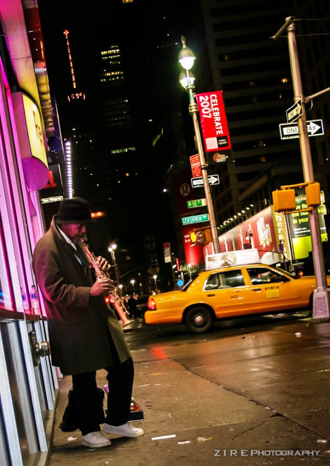 Friday Night Lights - Jazzy Nights in NYC by ZirePhotos
