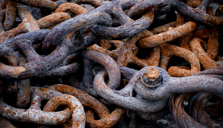 Hues of Iron / Chains - Fine Art Photographer, Tyrone Z. McCants