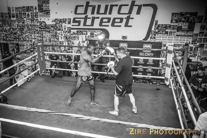 Glory 12 Open Workout 2013