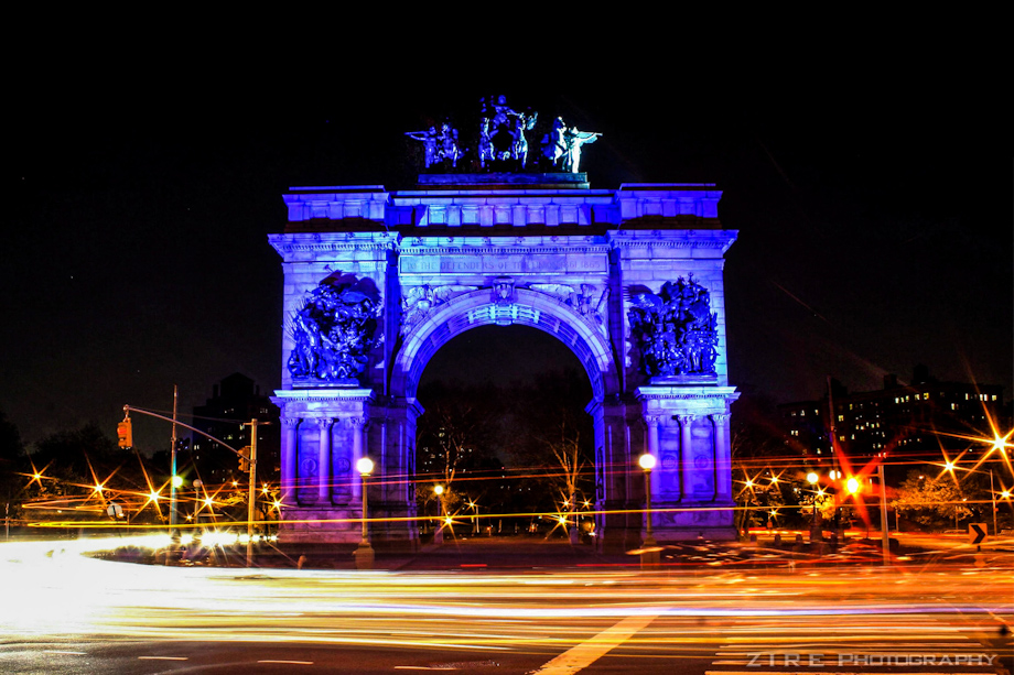 Grand Army Plaza in Motion
