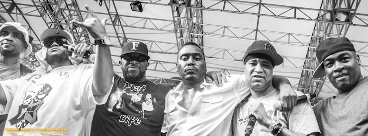 Big Daddy Kane invites Masta Ace, Craig G, Kool G Rap, and Dj Polo to perform Marley Marl's hip-hop classic the Symphony live at the Rock Steady Crew 38th Annual Celebration held on Sunday, July 26, 2015 at Central Park in New York City