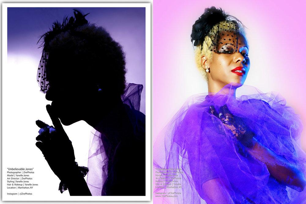 Music Portraits of Unbelievable Jones by Zire Photography