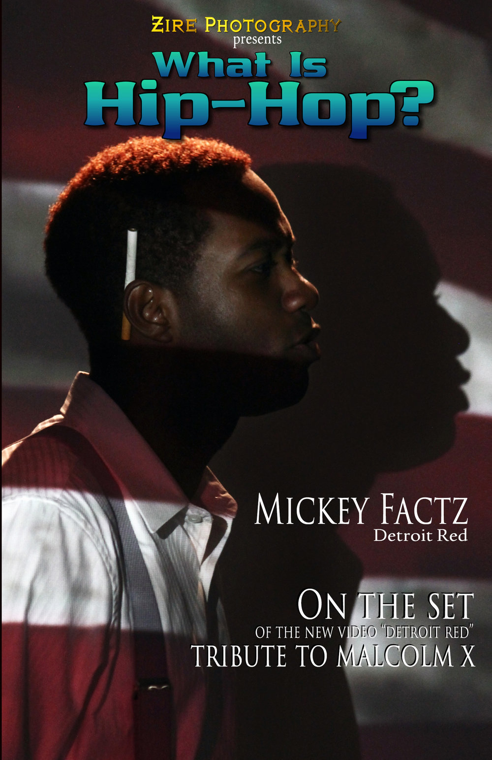 """On the set of """"Detroit Red"""" with Mickey Factz"""