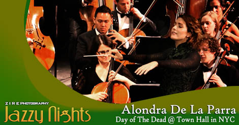 """""""Day of the Dead"""" Concert at Town Hall with Alondra De La Parra"""