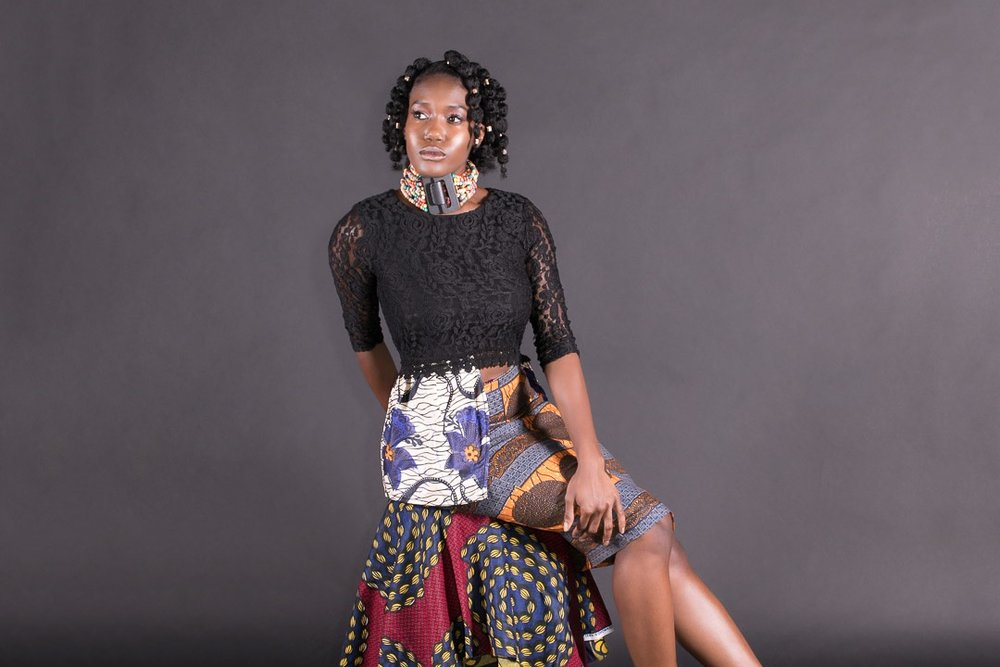 Kamilah S featuring Afro Punk Couture