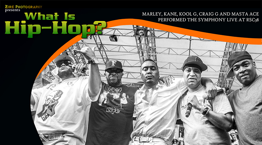 Hip-Hop Legends Of The Symphony Reunite Live at RSC38