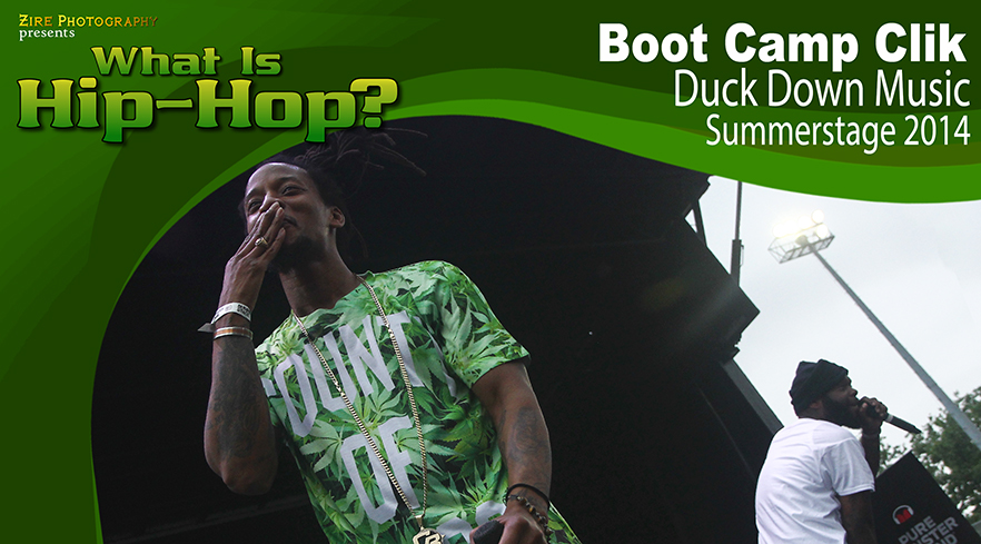 Duck Down Music and Boot Camp Clik Summerstage 2014