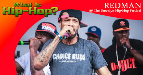 Redman @ 2013 Brooklyn Hip-Hop Festival