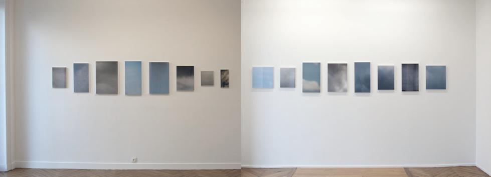 L'air ou l'optique, Galerie Mélanie Rio, exposition individuelle, du 3 avril au 16 mai 2015 vues d'exposition, photographies Silvana Reggiardo