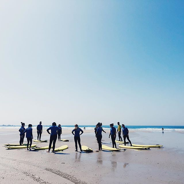 Friends who surf together, stay together. Come make unforgettable memories and do something different by joining us for a surf lesson!