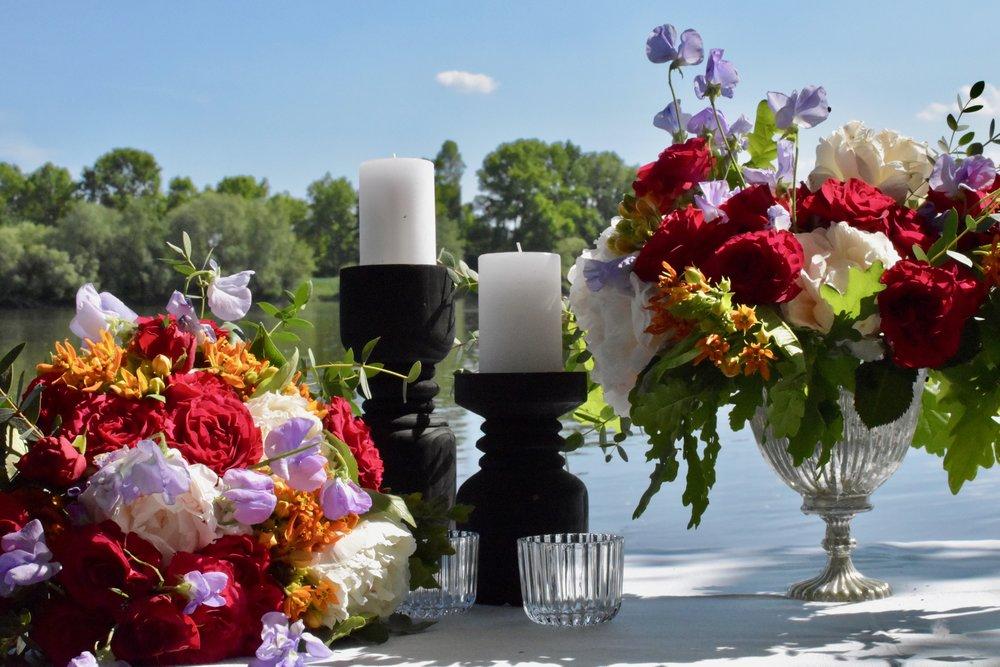 Le festif - Envie de couleurs vives ? Bohème &chic, cette ambiance va colorer l'ensemble de votre mariage !
