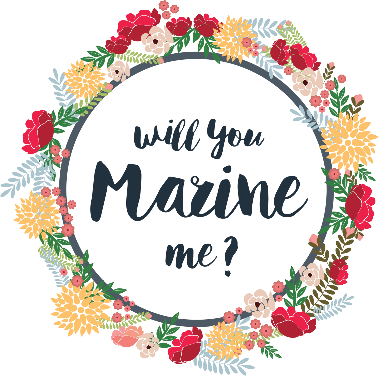 Will you Marine me