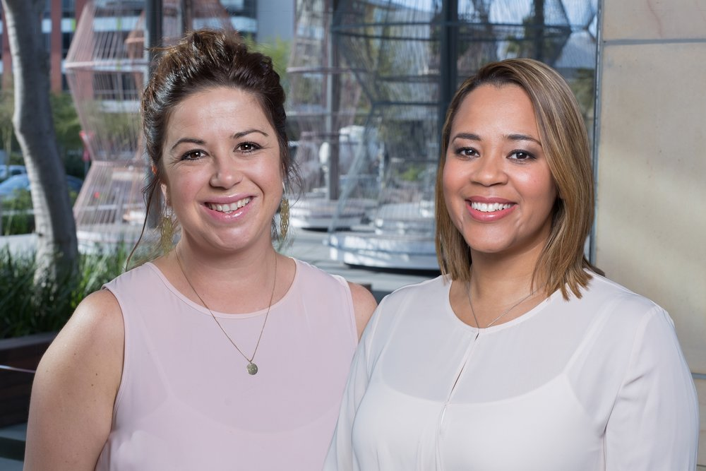 Origin's two new resident O&G specialists, Dr Lindi Murray (left) and Dr Ilana Johnson.