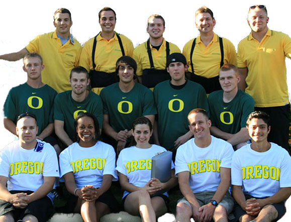 Our University of Oregon moving team