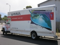 "As Advertised: 26 ft U-Haul 22' L x 7'7"" W x 7'1"" T 166.83 square feet of floor"
