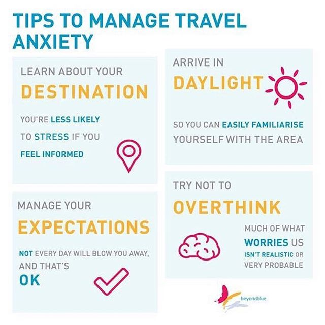 Very timely @beyondblueofficial 👍🏻 while the holiday season can be merry, travel can also exacerbate worries for any seasoned traveller. One moment at a time- stay mindful. ・・・ Even for the most seasoned traveller, travel can be a stressful experience. Hectic preparations, financial pressures, crowded planes, trains and buses, or, unfamiliar food, culture and language can trigger feelings of stress or worry. It's important to remember – holidays are rarely perfect from beginning to end. You're bound to face some challenges. We've written some helpful tips to help you manage the stress the travelling may cause. Have your own travel tips?