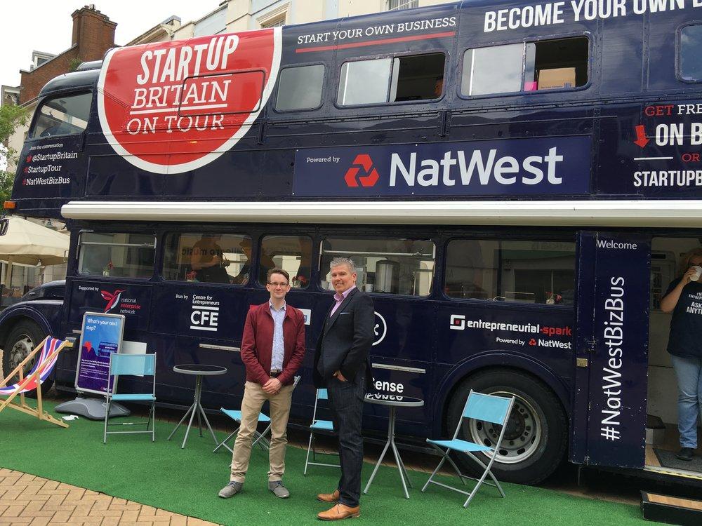 David Bell & Matt Smith (Startup Britain Director) .JPG