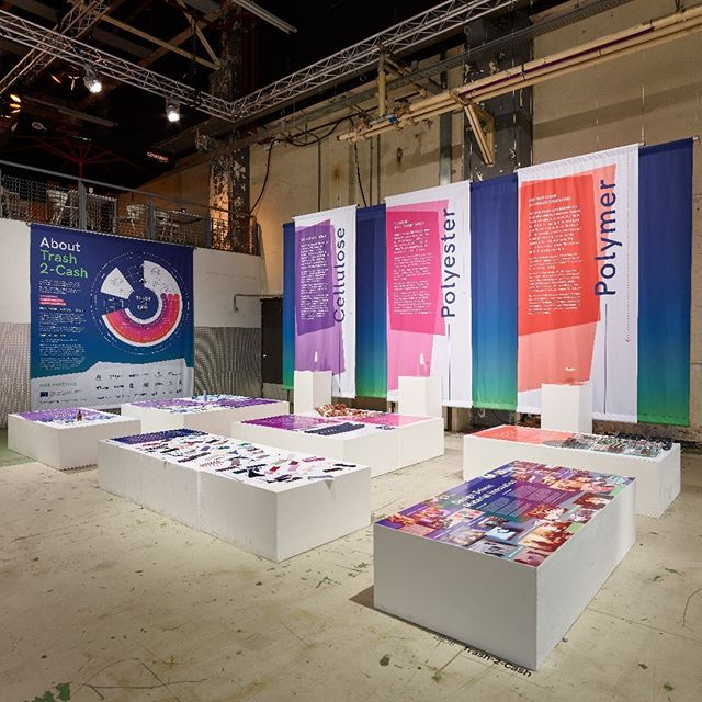 In our final podcast, specially prepared for the Ellen MacArthur Foundation's Disruptive Innovation Festival (DIF) 2018, we've taken highlights from each of the podcasts in the series to tell the story of Trash-2-Cash through the words of the scientists, researchers, academics, manufacturers and designers involved. We also reflect back on the unveiling of the project results at Dutch Design Week and the reception received. Link in bio.