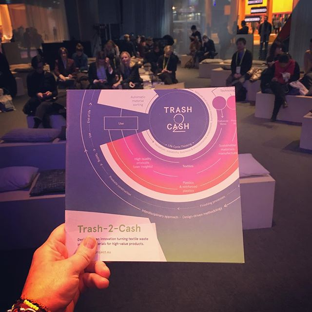 Talk at Heimtextil went down well - a full house! Watch out this week as the White Paper is very nearly ready... in the meantime download the brochure from the site. Link in bio! #designdriven #material #innovation #circulardesign