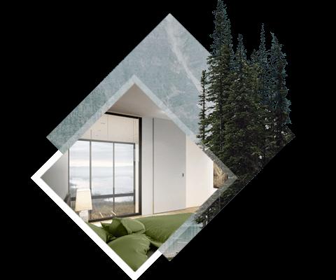 Éclairez votre vie - La combinaison d'une baie vitrée, d'une verrière et d'une porte-fenêtre en verre apporte une belle luminosité dans toute la maison, idéale pour votre confort quotidien.