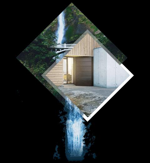 Des matériaux subtils - La Villa S Designer se distingue par l'association raffinée d'un bardage bois, du zinc noir, du verre et du béton banché. Une véritable réussite architecturale.