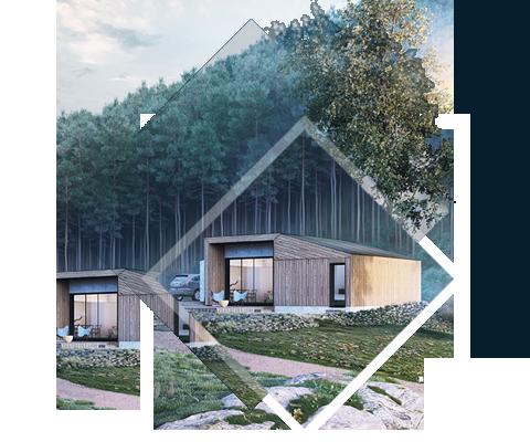 L'HABITAT TOUT-TERRAIN - Avec ses volumes optimisés et son double accès face avant / face arrière, la Villa XS Designer est parfaite comme résidence principale ou secondaire, quelque soit les caractéristiques de son environnement. Elle s'adapte aux terrains en pente ou accidentés, aux sols comme aux formes de terrain particuliers.