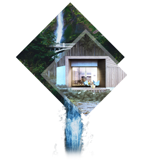 Des matériaux subtils - La Villa XS Designer se distingue par l'association raffinée d'un bardage bois, du zinc noir, du verre et du béton banché. Elle conjugue confort moderne et style authentique.