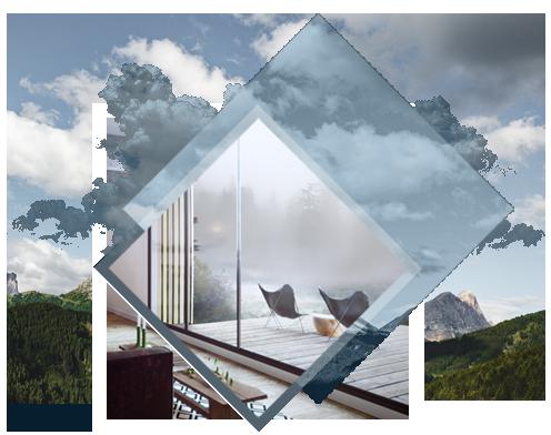 LAISSER RENTRER L'EXTÉRIEUR - Plus de la moitié de la façade arrière est occupée par une surface vitrée, ce qui procure une belle luminositépour votre pièce de vie.En ouvrant la baie vitrée, vous fusionnez le salon avec la terrasse pour profiter de l'extérieur quelque soit l'heure.