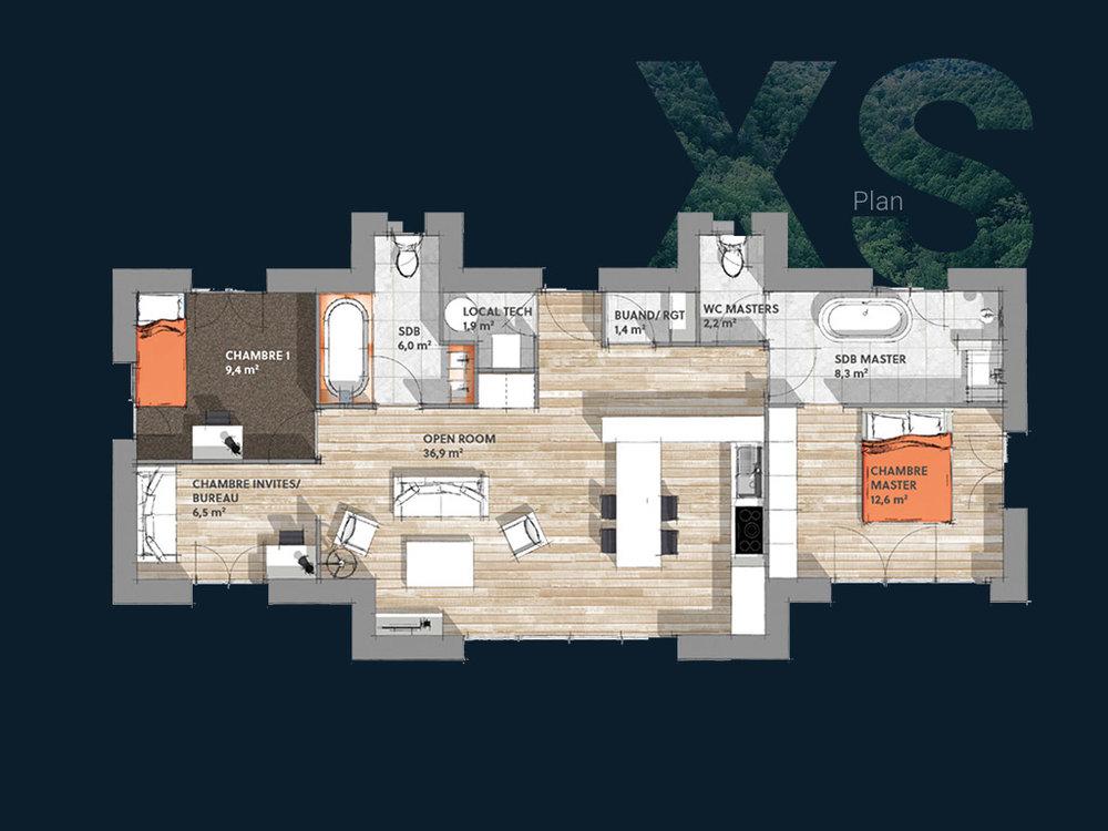 Plan de la Villa XS PP V2