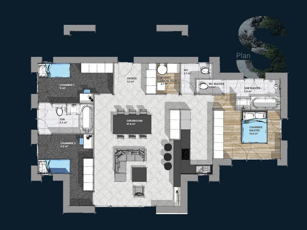 Plan de la Villa S PP V2