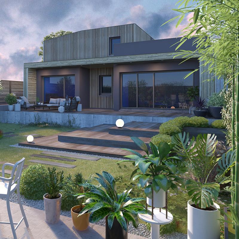 Villa M Designer - 117 m²