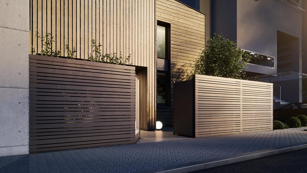 Belle & fonctionnelle. - La Villa M Designer affiche des formes dynamiques en combinant volumes horizontaux, lignes verticales et variation de toitures. Son style moderne et chaleureux flatte le regard en restant agréable à vivre.