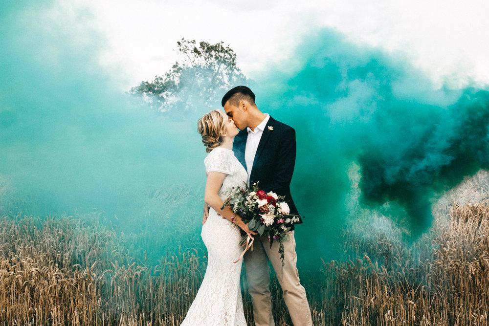 smoke bomb photography lancashire